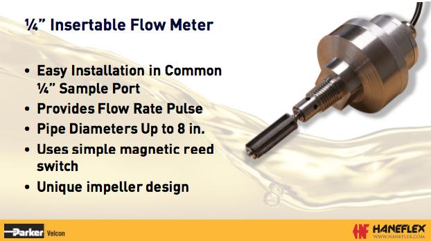 Velcon Flow Meter